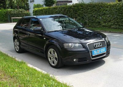 Prossinger Werbeagentur fotografiert: Fotostrecke Audi A3 Sportback