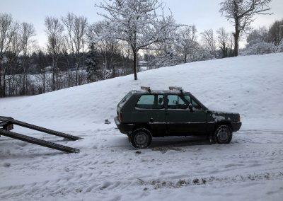 Prossinger Werbeagentur fotografiert: Fotostrecke Fiat Panda 141 »Welli« Allrad