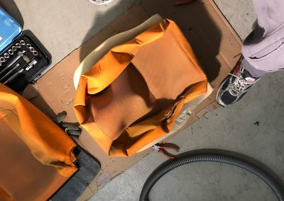 Prossinger Automobile: Fahrzeugsanierung Sitze