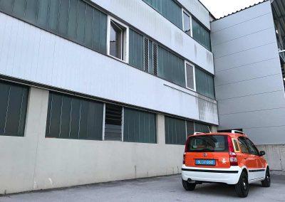 Prossinger Werbeagentur fotografiert: Fotostrecke Fiat Panda 169 Alessi