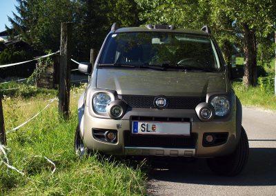 Prossinger Werbeagentur fotografiert: Fotostrecke Fiat Panda Cross