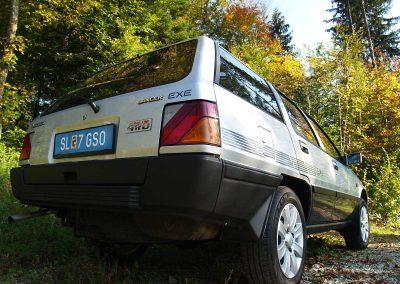 Prossinger Werbeagentur fotografiert: Fotostrecke Mitsubishi_Lancer_1800_GLX_4WD_EXE_Kombi