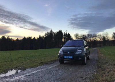 Prossinger Werbeagentur fotografiert: Fotostrecke Renault Mégane Scénic RX4