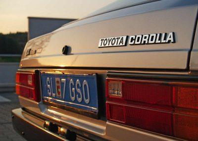 Prossinger Werbeagentur fotografiert: Fotostrecke Toyota Corolla KE70