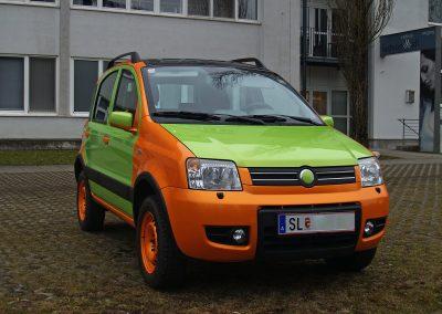 Prossinger Werbeagentur fotografiert: Fotostrecke Fiat Panda »TWINNI«
