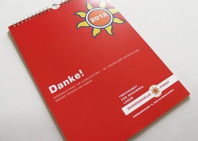 Prossinger Werbeagentur für Borromäus Point: Grafik, Text und werbliche Beratung