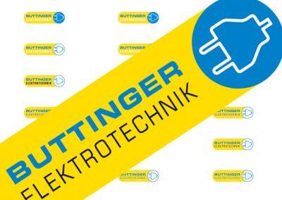Prossinger Werbeagentur für Buttinger Elektrotechnik: Corporate Design