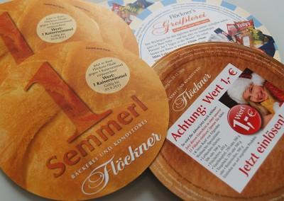 Prossinger Werbeagentur für Bäckerei und Konditorei Flöckner: Werbekonzeption und Public Relations