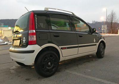 Prossinger Automobile: Felgendeckel Fiat Panda 169 Alessi