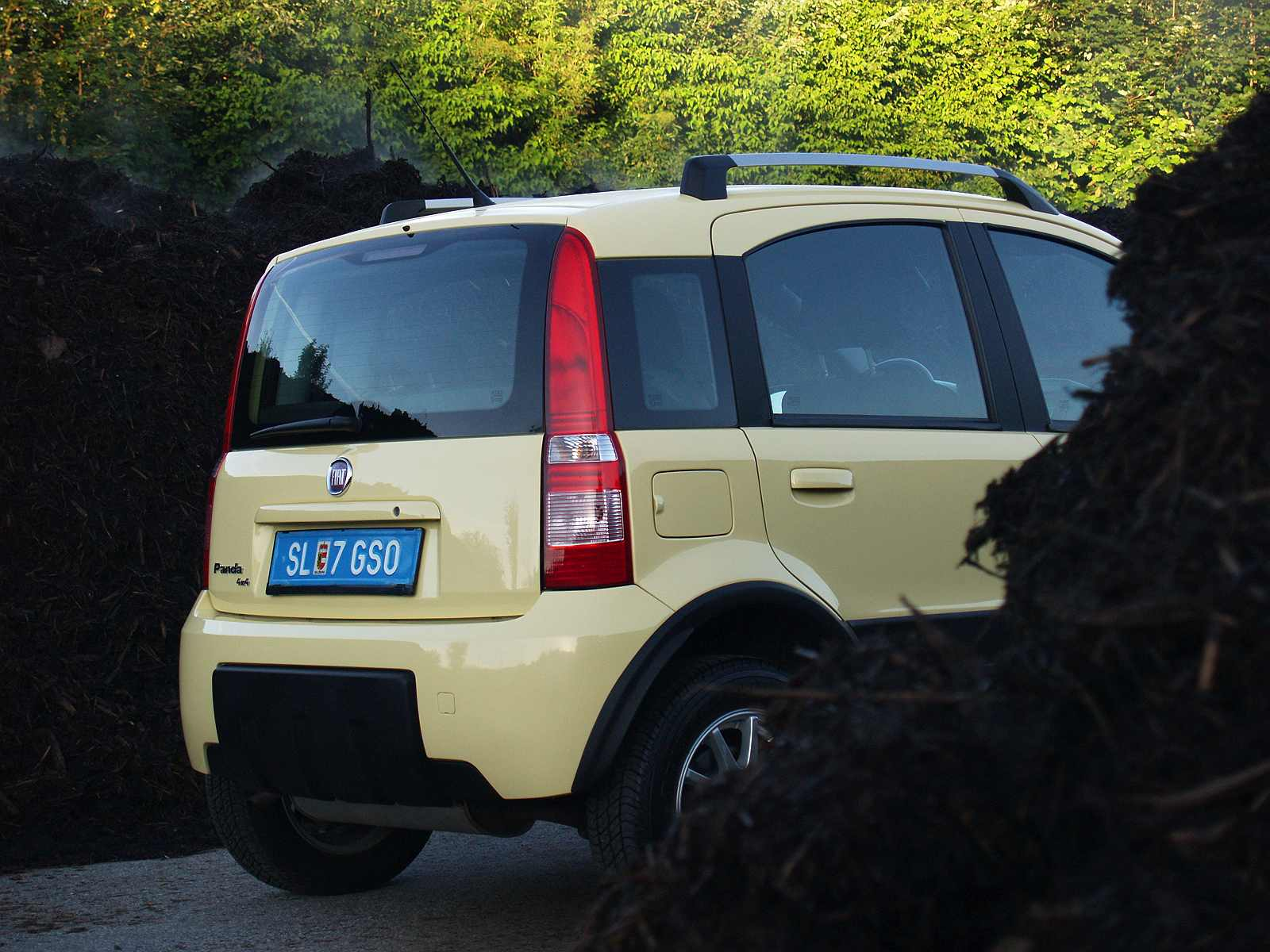 Prossinger Werbeagentur fotografiert: Fotostrecke Fiat Panda 169 Allrad