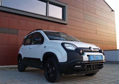 Prossinger Werbeagentur fotografiert: Fotostrecke Fiat Panda 4x4 Cross »Trussardi«