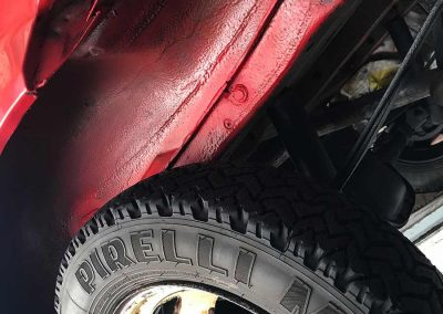 Prossinger Automobile: Fahrzeugsanierung mit Hohlraum- und Unterbodenbehandlung an Fiat Panda 141 4x4