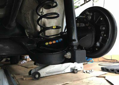 Prossinger Automobile: Fahrzeugsanierung Unterboden – nachher