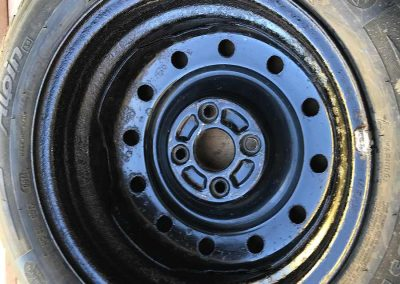 Prossinger Automobile: Fahrzeugsanierung Felgen Daihatsu Sirion 4x4