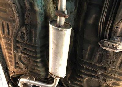 Daihatsu MOVE Unterbodenschutz Fahrzeugsanierung Dinitrol