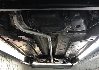 Prossinger Automobile: Fahrzeugsanierung Unterboden Fiat Panda 169 Alessi